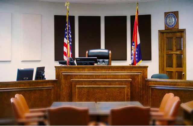 Judge bench image